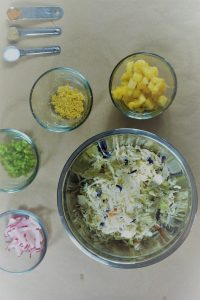 Spicy Pineapple Slaw